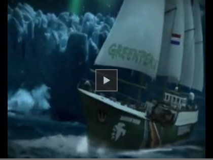 video Greenpeace: Salviamo Babbo Natale dai cambiamenti           climatici!