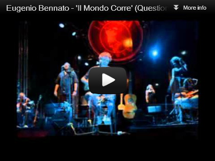video Eugenio Bennato - Il mondo corre