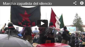 video Camminata zapatista del silenzio
