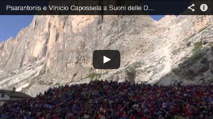 Video Psarantonis e Vinicio Capossela a Suoni delle Dolomiti 2013, all'alba