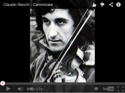 Video Claudio Rocchi: Camminare