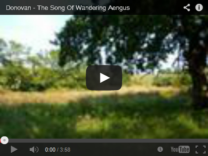 Video Donovan: The song of wandering Aengus