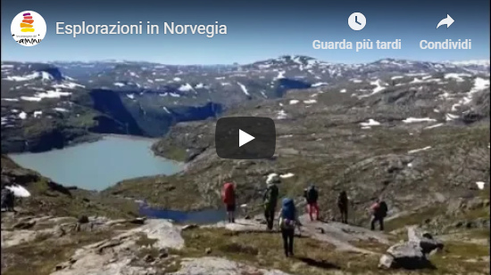 Video Esplorazioni in Norvegia con Franco Michieli - Montato da Brigitte Minder