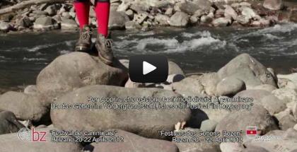 video Festival del Camminare Bolzano - Festival des Gehens Bozen