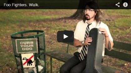Video Foo Fighters, Walk