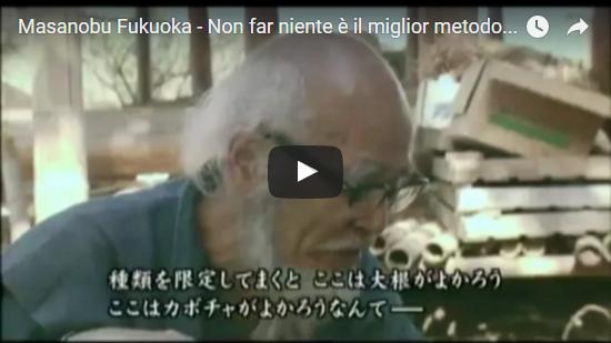 Video Masanobu Fukuoka - Non far niente è il miglior metodo agricolo