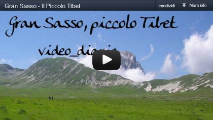 "video diario: trekking ""Gran Sasso, piccolo Tibet"""
