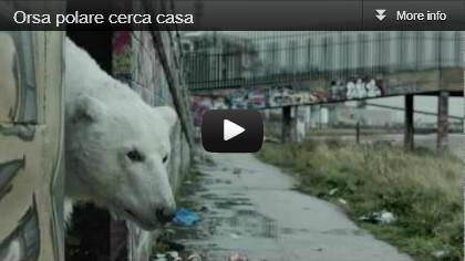 video Greenpeace: Orsa polare cerca casa