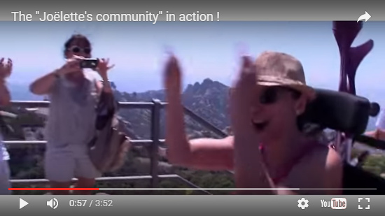 Video The Joëlette's community in action