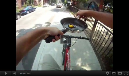 video The man who lived on his bike
