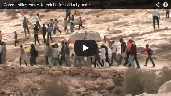 Video: marcia della pace nelle South Hebron Hills