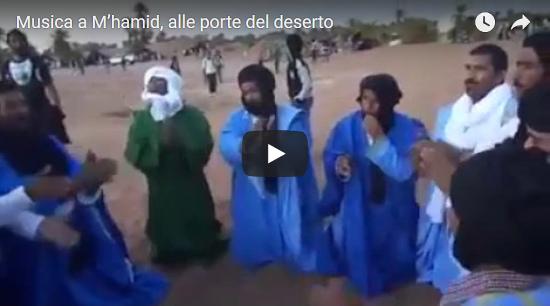 Video: Musica a M'hamid, alle porte del deserto