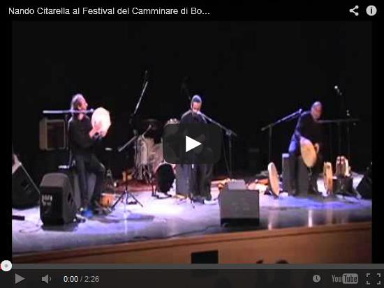 Video Nando Citarella al Festival di Camminare di Bolzano
