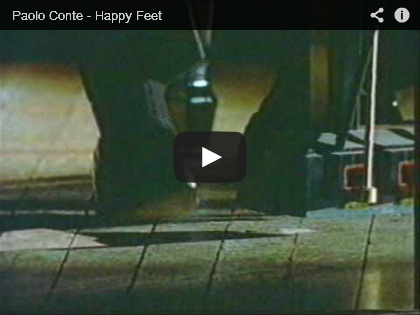 Video Paolo Conte, Happy feet