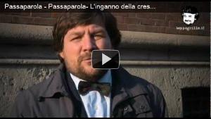 video Passaparola - L'inganno della crescita - Luca Mercalli