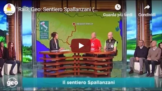 Geo, RaiTre, 9 novembre: il Sentiero Spallanzani