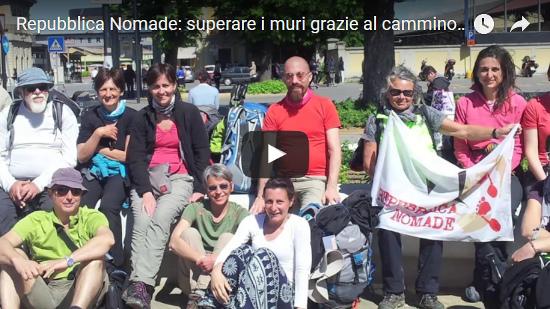Video Repubblica Nomade: superare i muri grazie al cammino