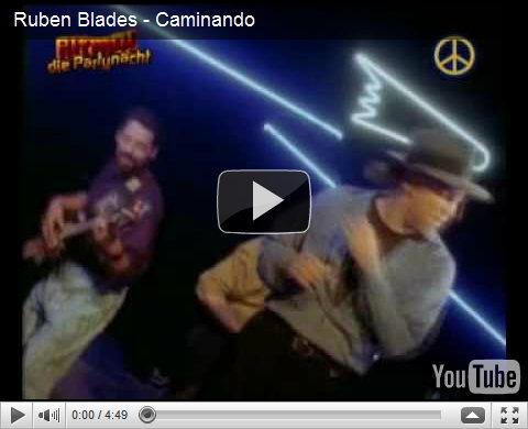 video Ruben Blades: Caminando