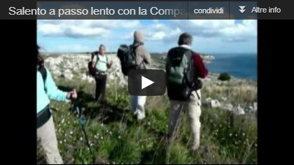 Video Salento a passo lento con la Compagnia dei Cammini