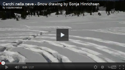 video Snow circles
