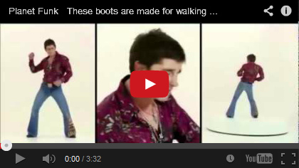 Video Planet Funk - These boots are made for walking
