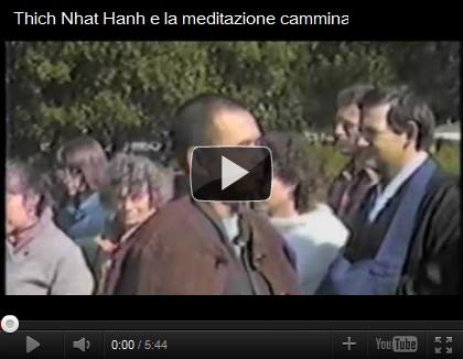 video Thich Nhat Hanh e la meditazione camminata