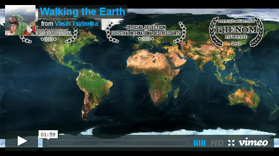 Video Walking the Earth