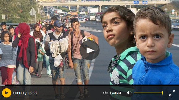 Video The Guardian: We walk together. A Syrian family's journey to the heart of Europe